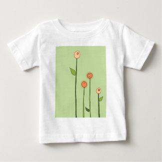 PomPomFlower ベビーTシャツ