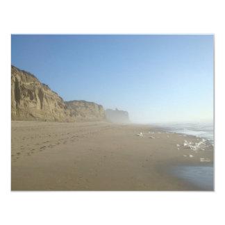 Pomponioの州ビーチの景色 カード