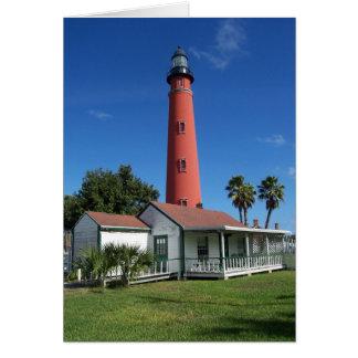 Ponceの入口の灯台 カード