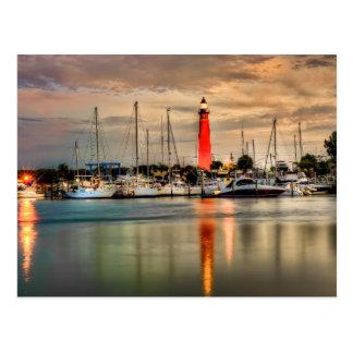 Ponceの入口の灯台 ポストカード