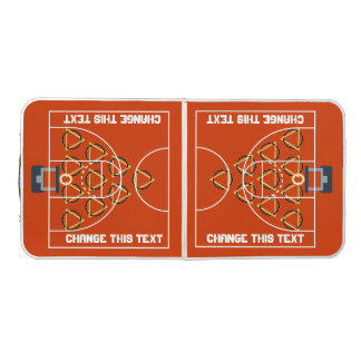 Pongのバスケットボールのテールゲート34色 ビアポンテーブル