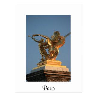 PontアレグサンダーIII ポストカード