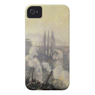 Pontコルネイユ、ルーアンのカミーユ著朝の霧 Case-Mate iPhone 4 ケース