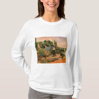Pont-Avenの芸術のポール・ゴーギャンの絵画のWasherwomen Tシャツ