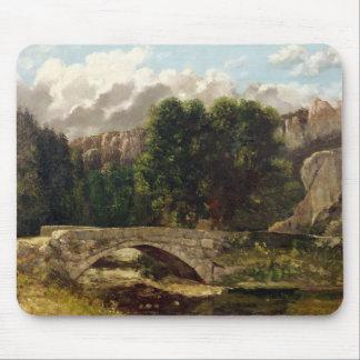 Pont de Fleurie、スイス連邦共和国1873年 マウスパッド