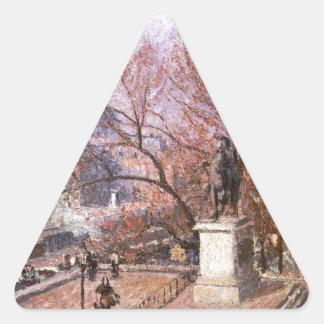 Pont Neufおよびアンリーの彫像IV 三角形シール