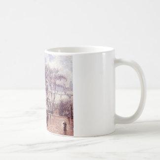 Pont Neufの場所アンリーの上げられた台地 コーヒーマグカップ