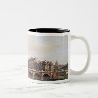 Pont Neuf 1832年の眺め ツートーンマグカップ