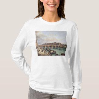 Pont Neuf 1832年の眺め Tシャツ