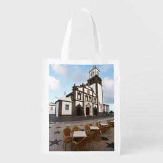 Ponta Delgadaの教会 エコバッグ