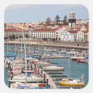Ponta Delgada -アゾレス スクエアシール