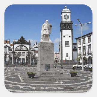 Ponta Delgada、アゾレス スクエアシール