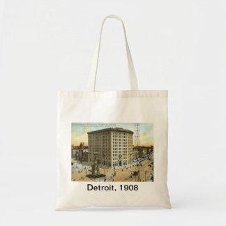Pontchartrainのホテル、デトロイトMI 1908年のヴィンテージ トートバッグ