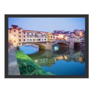 Ponte Vecchioフィレンツェイタリア ポストカード
