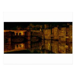 Ponte Vecchio、ウィリアムHolmanの狩りによるフィレンツェ ポストカード