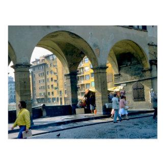 Ponte Vecchio、フィレンツェ、フィレンツェ ポストカード