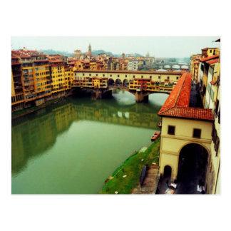 Ponte Vecchio -フィレンツェ ポストカード