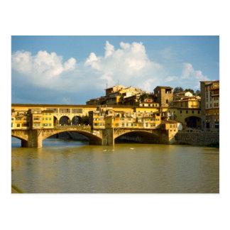 Ponte Vecchio、フィレンツェ ポストカード