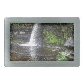 Pontneddfechanの滝のSgwd Gwladys、ウェールズ 長方形ベルトバックル