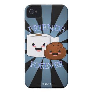 Pooおよび永久にトイレットペーパーの友人 Case-Mate iPhone 4 ケース