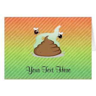Pooの臭いデザイン カード