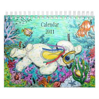 Pookieの愛らしいカレンダー カレンダー