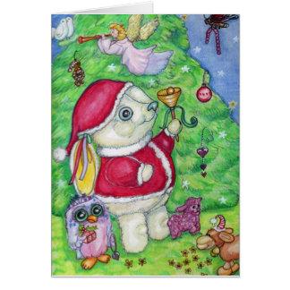 Pookyのクリスマス カード