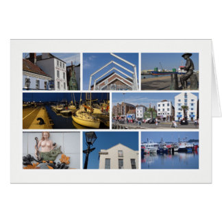 Pooleの数々のイメージ グリーティングカード