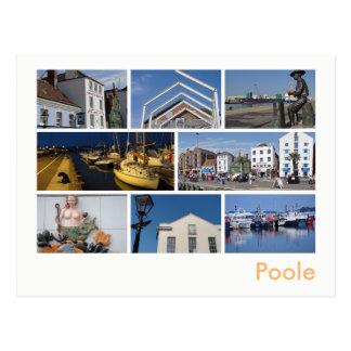 Pooleの数々のイメージ ポストカード