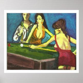 Poolsharks -ハリーWeisburd ポスター