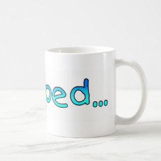 pooped コーヒーマグカップ