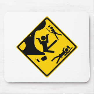 Poopmanの木クレーン蹴り マウスパッド