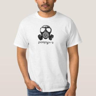 poopyガスマスクのTシャツ Tシャツ