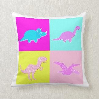 PopArt 4の恐竜の枕 クッション
