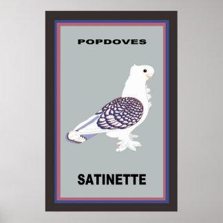 PopDoves Satinetteポスター ポスター