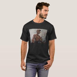 Popeyeの黒いTシャツ Tシャツ