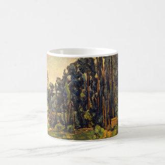Poplars_Impressionists コーヒーマグカップ