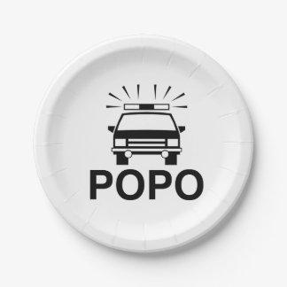POPOのプレート ペーパープレート