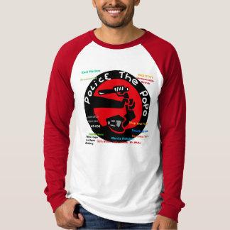PoPo反停止の治安を維持し、デザインを捜索して下さい Tシャツ