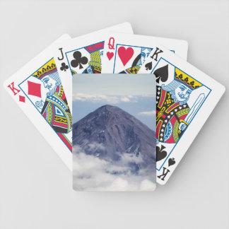 Popocatépetlの火山、メキシコ バイスクルトランプ