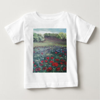 poppie分野 ベビーTシャツ