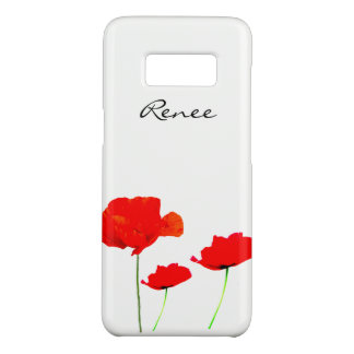 POPPY Collection 02 Personalized Samsung Case Case-Mate Samsung Galaxy S8ケース