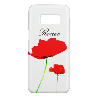 POPPY Collection 05 Personalized Samsung Case Case-Mate Samsung Galaxy S8ケース
