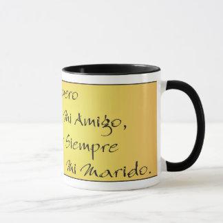 Por Siempre Mi Marido© - Taza del Latonn deティフアナ マグカップ