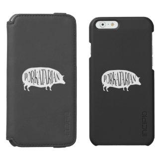 PorkatarianのヴィンテージBBQのブタ Incipio Watson™ iPhone 5 財布型ケース