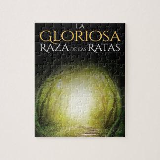 """Portada del libro """"La Gloriosa Raza de las Ratas """" ジグソーパズル"""