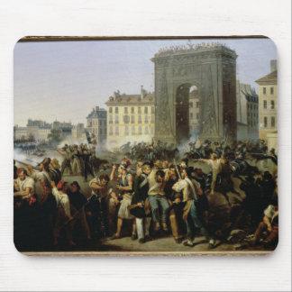 Porte聖者デニス、1830年7月28日で戦って下さい マウスパッド
