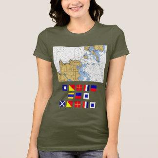 Porte Des MortsのWIの死のドア、航海のなTシャツ Tシャツ