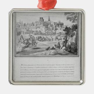 Porte Sainteアントワーヌ、1652年7月2日で戦って下さい メタルオーナメント