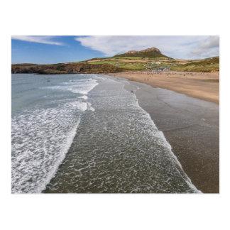 Porth Mawr Whitesands湾ウェールズ ポストカード
